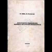 Meller, Mariusz, 1990, Budownictwo przemysłowe : materiały do ćwiczeń projektowych