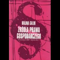 Salik, Hanna Red., 2003, Źródła prawa gospodarczego