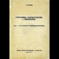 Karpiński, Tadeusz, 1971, Ćwiczenia laboratoryjne z obrabiarek. Cz.1