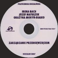 Bach, Irena, 2007, Zarządzanie przedsięwzięciem