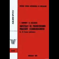 Karpiński, Tadeusz, 1978, Materiały do projektowania procesów technologicznych. Cz.3, Pomoce pomiarowe